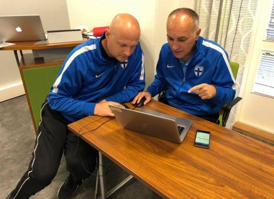 With Mićo Martić – head instructor